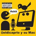 El Dicaprio y su Mac, Soy Fan de la Mac!!