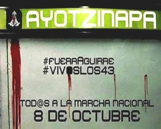portada - Represión & Masacre en Ayotzinapa Guerrero (Mexico)